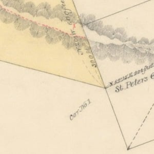 Click this thumbnail for a full view of 17.04 acre claim of Willard Young known as the Summit Quart Mine located in the Grave Creek Mining District of Josephine County, Oregon.