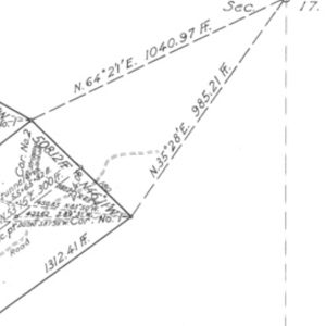 Click this thumbnail for a full view of 32.251 acre claim of G. C. Hyatt known as the Tuesday, Tommy Atkins Mining Claims located in the Mount Baker Mining District of Whatcom County, Washington.