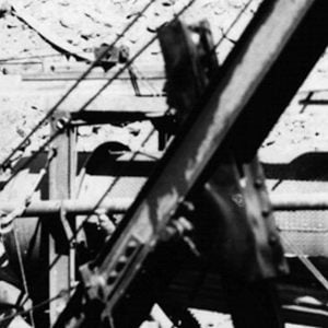 Click this thumbnail for a full view of Mining machinery at a lode mine.