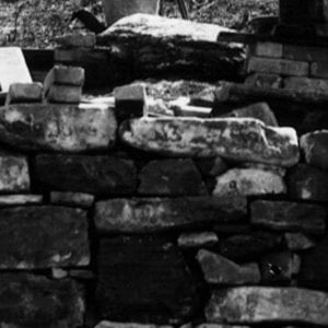 Click this thumbnail for a full view of Stone kiln at a lode mine.